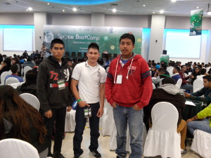 Participantes en el Space Boot Camp 2016